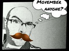 Not long now. #movember #noshavenovember #fundraising #charity #community #humour #art #cartoon #pixlr #papercamera #