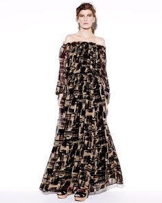 I am a short girl. I know this one will flow in the breeze! Rachel Zoe has mastered the maxi for short girls. Love the printed twist on this classic Zoe look.