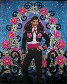 2006 (as reference) - 'Chanteur de Mexico' by Pierre et Gilles. Poster for the  production at the Chatelet theatre in Paris. by Pierre et Gilles (Pierre Commoy -1950- and Gilles Blanchard -1953-). Pierre et Gilles are French artists and romantic partners, They have been producing works together since 1976, creating the world where painting and photography meet.