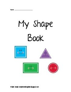 My Shape Book of Shape Songs
