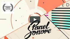 Panel Sonore Ident by: Oscar Salas Motion Design, After Effects, Learn Animation, Motion Logo, Adobe Illustrator Cs6, Branding, Creative Video, Article Design, Sound Design