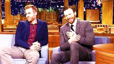 Chris Evans and his gay brother Scott Evans (One Life To Live) on The Jimmy Fallon Show share embarrassing childhood stories