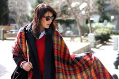 #tartan #streetstyle #fashion