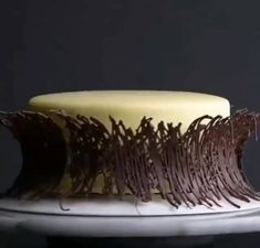 Everything's better with chocolate! 🍫🍰😍 - Amazing chocolate cakes and recipes. Amazing chocolate cakes and recipes. Amazing chocolate cakes a - Cake Decorating Techniques, Cake Decorating Tutorials, Cookie Decorating, Decoration Patisserie, Dessert Decoration, Food Cakes, Cupcake Cakes, Easy Cake Recipes, Dessert Recipes