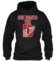 Limited-Edition Red Wings Hoodie | Teespring