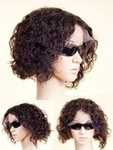 Stock Full Lace Human hair Wig - Curly -PTDC001-s #rpgshow