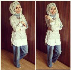 Hijab Denim Style