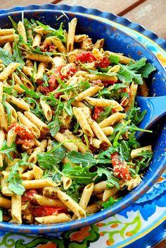 six ingredient chicken pesto pasta 2_small