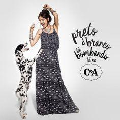 Tem preto e branco muito amor na coleção preview primavera/verão da @cea_brasil ♥♡ Estrelando a linda da @mariacasadevall #tabombando #zuzumag #fashion #preview