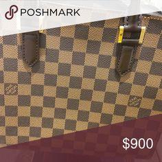 69d0d90911993 Louie Bag Bag like new wore 10x vintage Pattern Louis Vuitton Bags Satchels