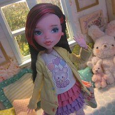 Nicolette #ooak #monsterhigh #doll   by Keera