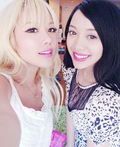 Michelle Phan and Xiaxue! love these makeup gurus!!