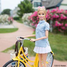 Beach cruising at its best! #montauk #barbie #barbiestyle