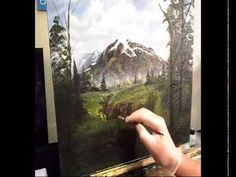 CLIVE5ART: Acrylic Painting Lessons, Tips Techniques, Landscape,Trees, Mountains