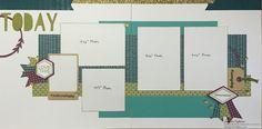 jd designs: CTMH Simply Fundamental Blog Hop - Scrapbook layout #ctmhfundamentals #ctmhartistry