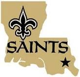No place I'd rather be! I love LA and I love my Saints! Who Dat!