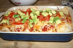 Slow Cooked Chicken and Salsa Enchiladas- My go-to You've Got Supper ...
