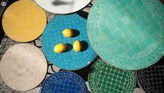 Mosaikbord från Spiti   Stockholm