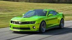 Green Chev Camaro