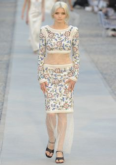 Abbey Lee Kershaw at Chanel Resort 2012