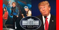 Donald Trump play The Rolling Stones to end acceptance speech