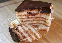 Шоколадный торт-эклер