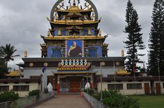 Tibetan Monastery worth visiting in Coorg, located just outside the city. Coorg which known for its food, coffee plantations, and nature  is worth a visit while your on your holiday to India