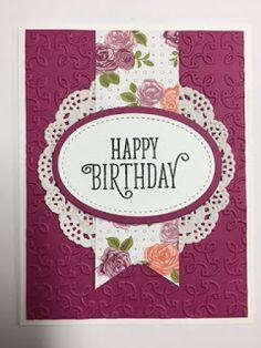 3701 best craft ideas birthday cards images on pinterest in 2018 happy birthday gorgeous birthday card stampin up m4hsunfo