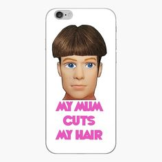 Iphone 6 Skins, Ken Doll, Cut My Hair, Meaningful Gifts, Hair Humor, Top Artists, Hairdresser, Vinyl Decals, Bubbles