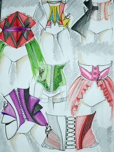 #fashion #moda #fashiondesign #corset #design #fashiondesigner #designer #style #look  #art