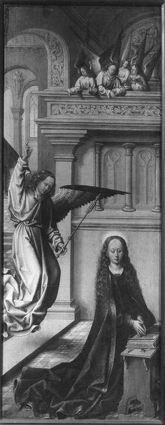 Annonciation | Paris[FR], Musée Marmottan | inconnu (artiste-peintre), Date: 1501 - 1525