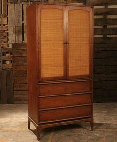 Vertical Living: Lane Cabinet, Flat Files & Rosewood Desk The Monday Scavenger