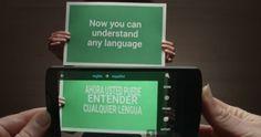 Madrid, 14 ene (EFE).-Googleha dado un paso más para convertir el móvil en traductor universal tras anunciar una actualización del servicioGoogleTranslator para Android e IOS (Apple), que mejorará la traducción simultánea de los textos mediante la cámara y las conversaciones en otro i
