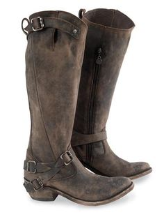 Double D Frontier Trapper Cowgirl Boots..... I WANT ...