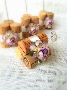Rustic Wedding Table Number Holders by KarasVineyardWedding, $25.00