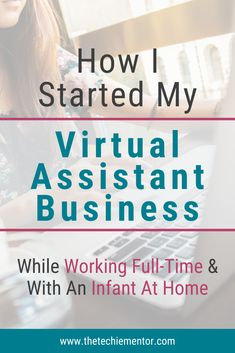 We all have our reasons why we started our freelance business or why we want to start a work from home business. Here I share my story on how I began my virtual assistant business as a side hustle. Click through to read my VA journey and see if you can relate and also find inspiration to help you get started on your journey to become a virtual assistant. #virtualassistanttraining #schedulingtips #startavirtualassistantbusiness Small Business Plan, Writing A Business Plan, Work From Home Business, Work From Home Tips, Business Tips, Business Planning, Quitting Your Job, Busy At Work, Time Management Tips