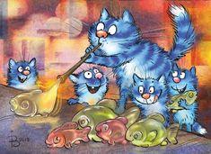 「 onda et st yves」の検索結果 - Yahoo! Cartoon Kunst, Cartoon Art, Minion Drawing, Cat Cupcakes, Animal Projects, Blue Cats, Watercolor Sketch, Whimsical Art, Animal Paintings
