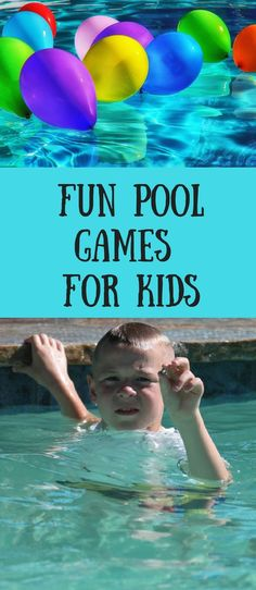 Don't let your kids get bored at the pool this summer.  Discover some amazing fun games that will keep their minds and bodies active at the swimming pool.