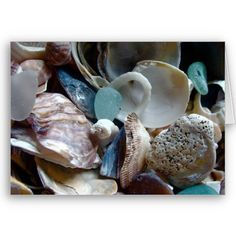 Sea Glass Greeting Card $2.95