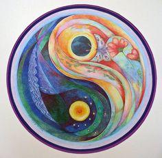 every thing may be there.thats freedom - Fransien de Vries – Yin Yang.every thing may be there…thats freedom - Mandala Print, Mandala Design, Image Zen, Yin Yang Art, Yin Yang Tattoos, British Library, Fractal Art, Sacred Geometry, Sun Moon