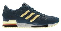 adidas zx 750 zwart red groen yellow