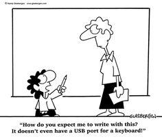 education cartoons computers | Education Cartoons: cartoons about teachers, school cartoons ...