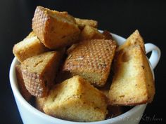 Home made Croutons..