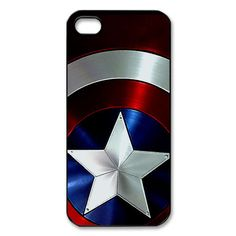 should i get this? iphone 5 case captain america shield apple by simplegiftshop, $16.00