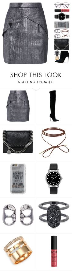 """""""3 janvier"""" by elyblog ❤ liked on Polyvore featuring Roland Mouret, Gianni Renzi, STELLA McCARTNEY, Agent 18, Mestige, Marc Jacobs, Kendra Scott, Repossi and NYX"""