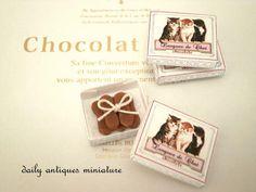 """langue de chat"" Chocolate | by daily_antiques_miniature"