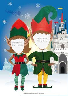 Santa's Photo Booth- Elf Boy & Elf Girl