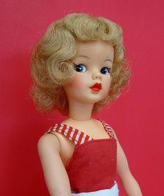 No Barbie dolls but I did get a Tammy doll.