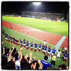 [J1第19節]湘南 1-2 横浜FM (Shonan BMWスタジアム平塚) 2013/08/03