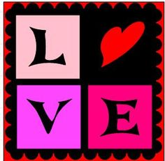Free Svg File of a Love Square